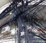 Free Photo - Chaotic Cambodian street cabling