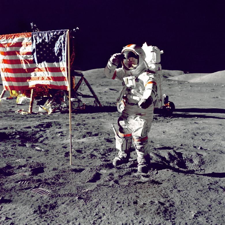 Moon Landing - Free Space Stock Photos