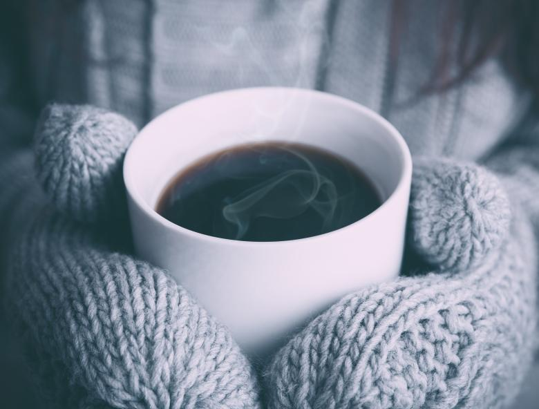 Free Stock Photo of Coffee in the cold Created by Unsplash