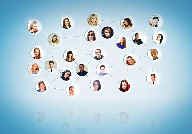 Free Stock Photo of A Network of People - Networking Concept Created by Jack Moreh