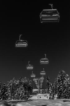 Chair Lifts - Free Stock Photo