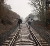 Free Photo - Rail Road Running