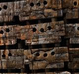 Free Photo - Charred Wood Boxes