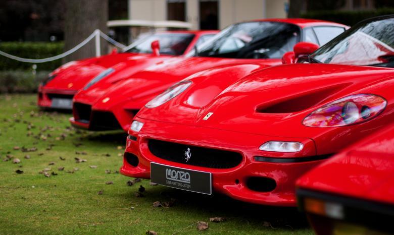 Ferrari - Free Red Stock Photos