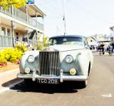 Free Photo - White Rolls Royce