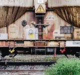 Free Photo - Rusting Train Cart