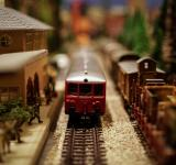 Free Photo - Toy Trains Tilt Shift