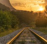 Free Photo - Bright Train Tracks