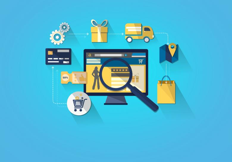 Free Stock Photo of Online Shopping - Shopping on Desktop Created by Jack Moreh