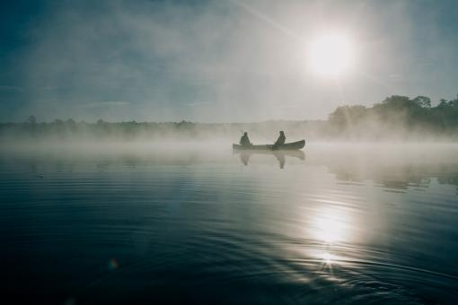 Peace on the lake - Free Stock Photo