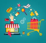 Free Photo - Online Shopping - Laptop to Shopping Cart