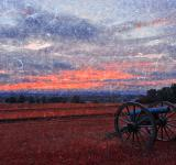 Free Photo - Gettysburg Cannon Sunset - Ruby Rapture
