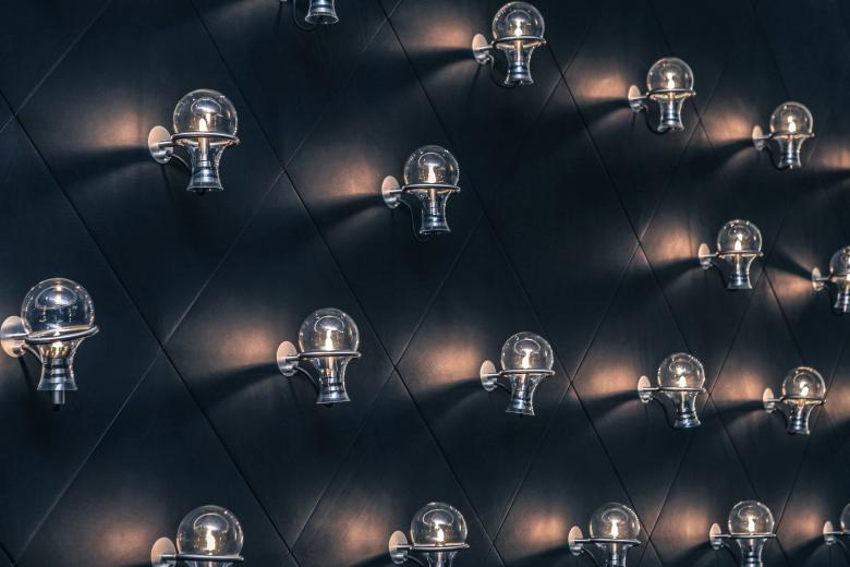 Rows of Bulbs - Free Industrial Stock Photos