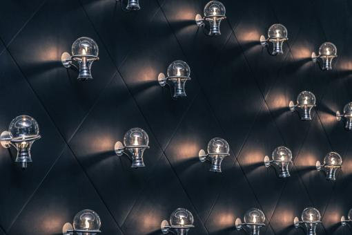 Rows of Bulbs - Free Stock Photo