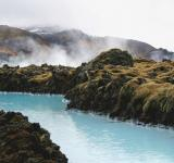 Free Photo - Running Geothermal Water