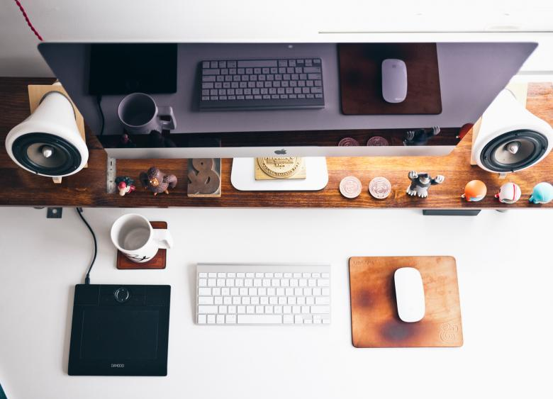 Free Stock Photo of Designer Workspace Created by Unsplash