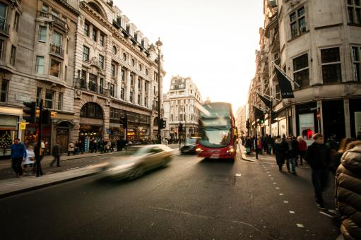 Fast Moving City - Free Stock Photo