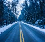 Free Photo - Icy Road