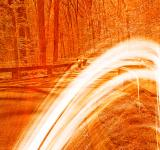 Free Photo - Fiery Streaks of Rock Creek