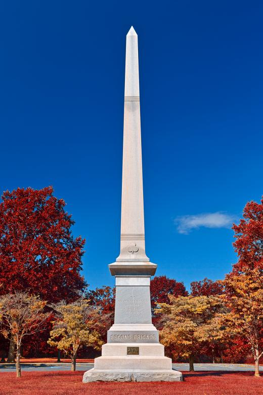 Free Stock Photo of Philadelphia Second Brigade Monument - Autumn Warm HDR Created by Nicolas Raymond