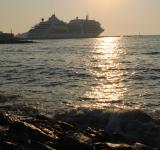 Free Photo - Sunset over the Canakkale Port