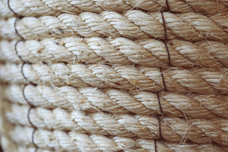 Free Stock Photo of Rope Texture Created by Life of Pix
