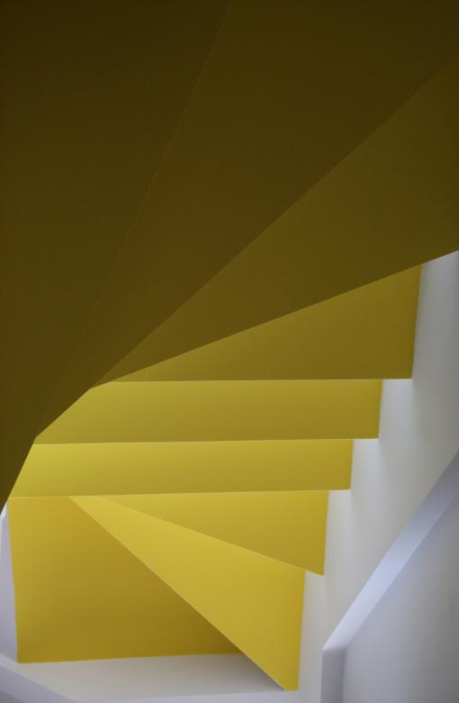 Free Stock Photo of Yellow Stairs Created by Life of Pix