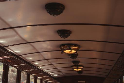 Train Ceiling - Free Stock Photo