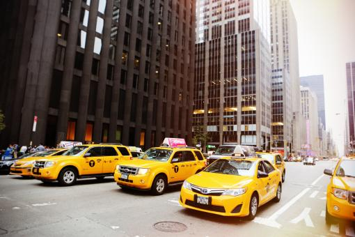 Ny-Taxi - Free Stock Photo