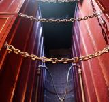 Free Photo - Red Metal Chain