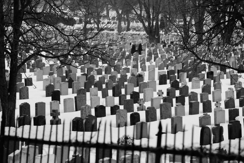 Free Stock Photo of Graveyard Created by Life of Pix