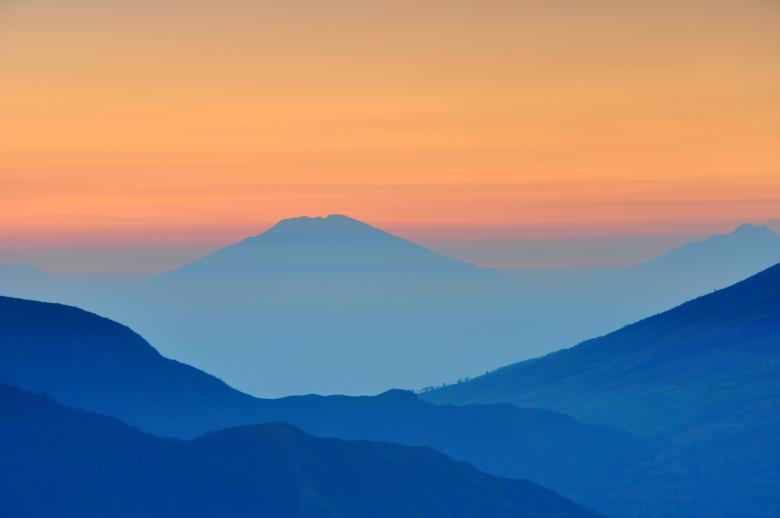 Free Stock Photo of Blue Landscape
