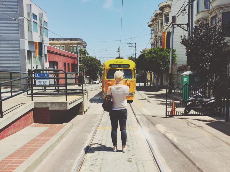 Free Stock Photo of Tramway Created by Life of Pix