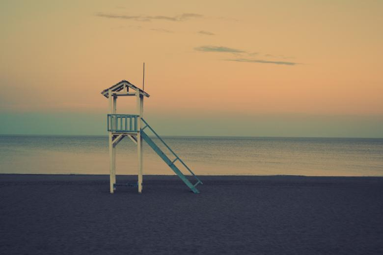 Free Stock Photo of Lifeguard Tower Created by Life of Pix