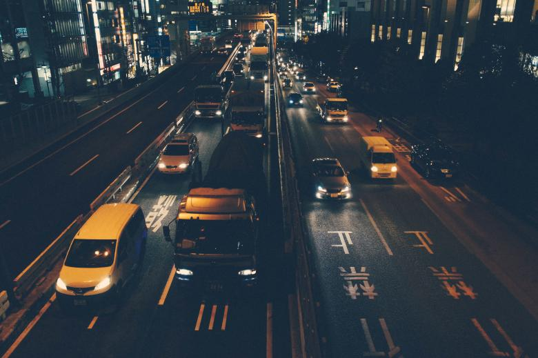 Free Stock Photo of City Traffic Created by Life of Pix