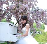Free Photo - Bride playing the piano