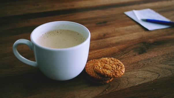 Tea and Biscuits - Free Stock Photo