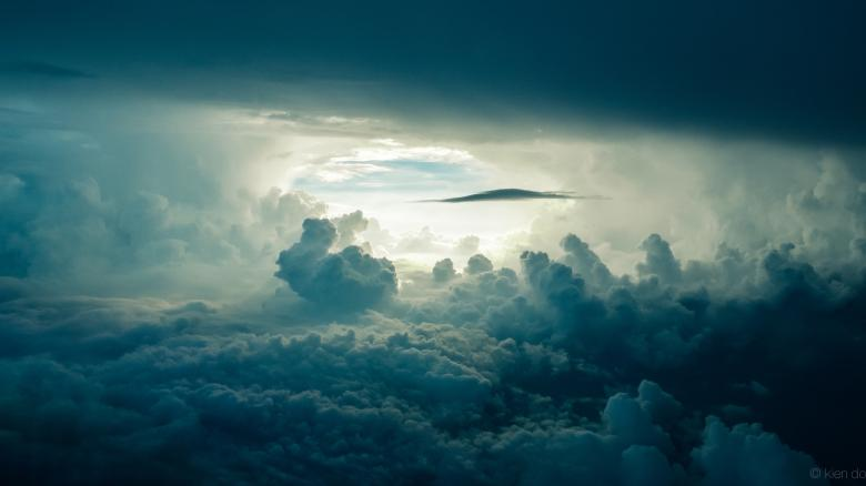 Thick Clouds Free Stock Photo