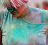 Free Photo - Colors Mix Girl