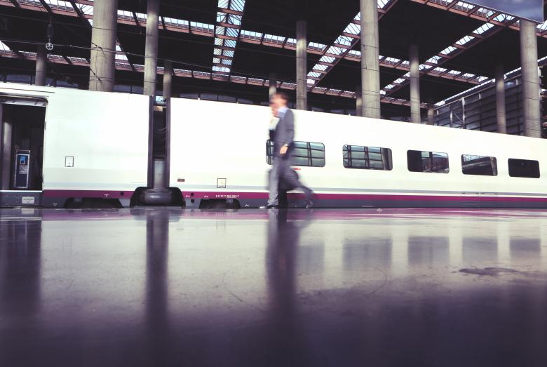 Free Stock Photo of Train Station Created by Life of Pix
