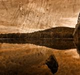 Free Photo - Point of Rocks - Sepia Grunge