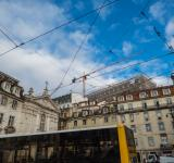 Free Photo - Architecture of Lisbon- under construction