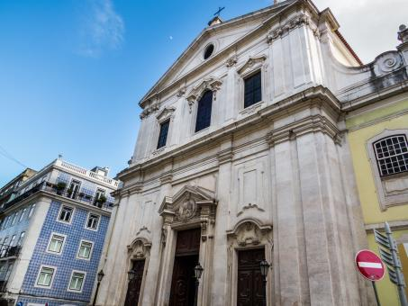 Architecture of Lisbon - church  - Free Stock Photo