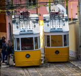 Free Photo - Yellow trams