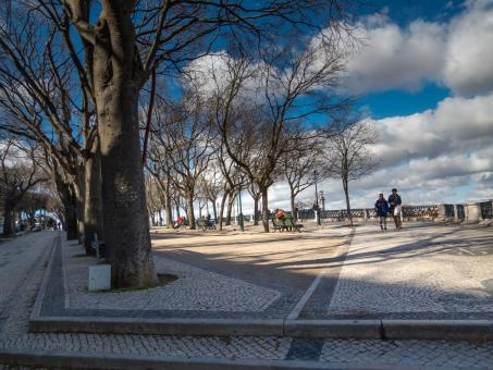 Lisbon viewing area - Free Stock Photo