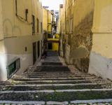 Free Photo - Narrow street of Lisbon
