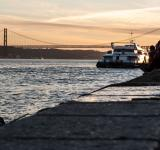 Free Photo - Lisbon promenade, river side