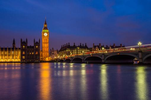 Big Ben at Night - Free Stock Photo