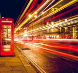 Free Photo - Phone Booth Long Exposure