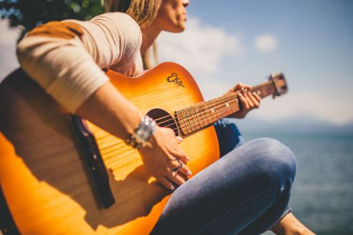 Guitarist - Free Stock Photo
